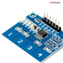 Robocraze TTP224 4 Channel Digital Capacitive Touch Sensor for Arduino