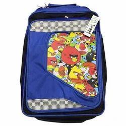 Polyester Angry Bird School Bag