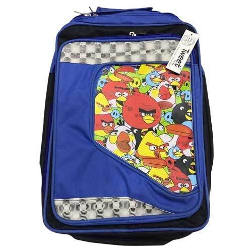 d53fb253aed9 Polyester Angry Bird School Bag
