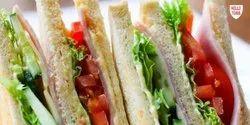 Deluxe Basic Indian Veg Sandwich, Packaging Size: 10x100