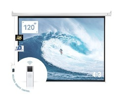 Screen Technics Deluxe 6x8 Motorized Projector Screen