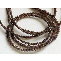 Light Brown Diamond Bead
