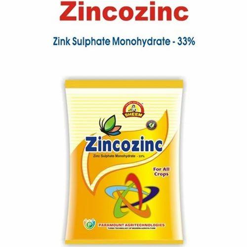 Zinc Sulphate Monohydrate 33% Micronutrient Fertilizer