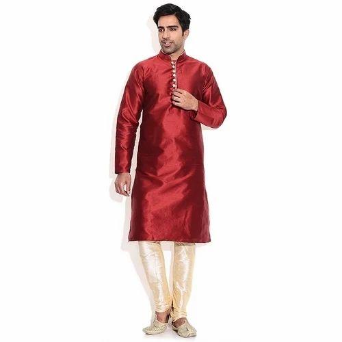 39812f4d4 Wedding Wear Fancy Silk Kurta Pajama, Size: 42, Rs 699 /set | ID ...