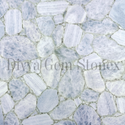 Ice Blue Calcite Slab