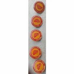 Round Plastic Badges