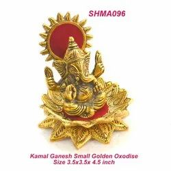 Ganesh Sitting On Kamal Glox