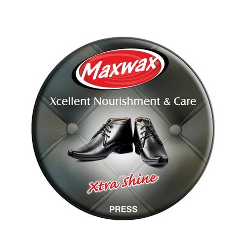 Maxwax Black Shoe Polish Paste