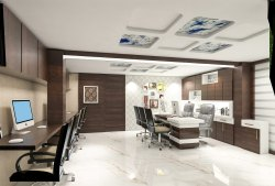 Office Interior Design Services, Size: 500s Qft Min