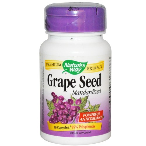 Nature' Way Grape Seed Capsule, Packaging Size: 30 Capsules, Packaging Type: Bottle
