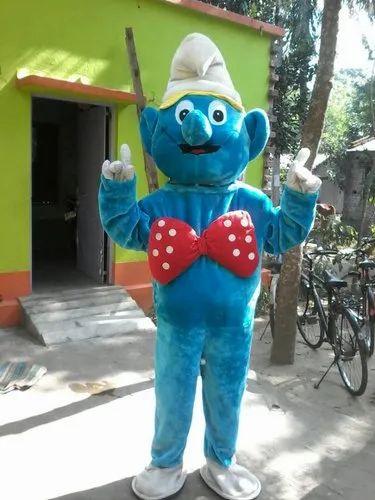 39dbd95c5 Blue Plain Cartoon Mascot Costume, Rs 2500 /piece, Boby Inflatables ...