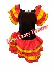 Kids Salsa Girl Costume