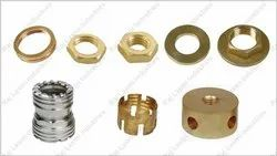 Mild Steel Brass Turned Components, For Ele Switching Part, Packaging Type: Box