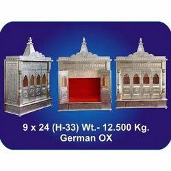 9x24x33 Inch German Oxidized Temple