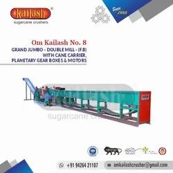 Sugarcane Crusher Double Mill With Cane Carrier Om Kailash No.8