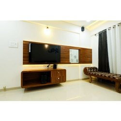 Designer Wooden TV Cabinet, Size: 6x4 Feet