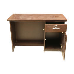 Wooden Office Table Wood Office Tables Krishna Steel Furniture - 4 feet office table