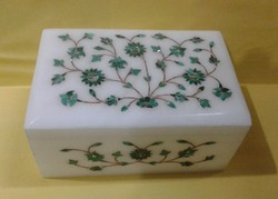 Pure White Makrana Marble Box