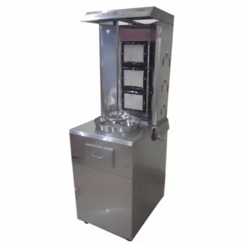 Gas Shawarma Machine, Number Of Gas Burners: 1, for Restaurant