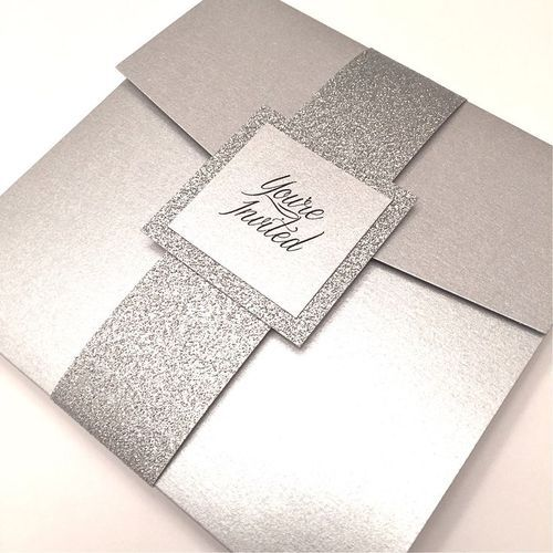 Silver Wedding Cards Marriage Invitation Cards Shaadi Cards