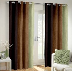 Long Crushed Curtains