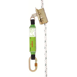 Equipped Lanyard With Energy Absorber