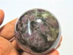 Natural Russian Eudialyte Stone Sphere Ball