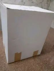 White Laminated Duplex Box, For Packaging, Rectangle