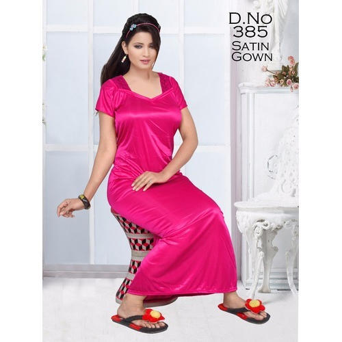 Satin Night Gown