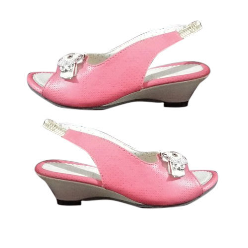 PVC,TPR Girls Pink Sandals, Rs 170