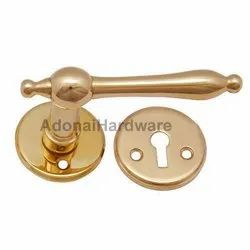 Acts Brass Handle With Rose