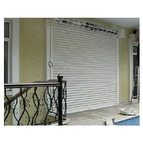 Metal White Automated Shutters