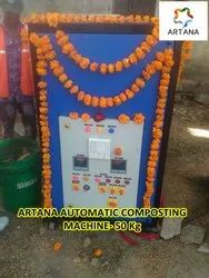 Annual Maintenance Contract Of Composting Machine, For Industrial, Automation Grade: Automatic