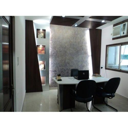 Commercial Interior Designing Decoration Reception Counter