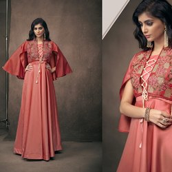 Glamorous Silk Gown