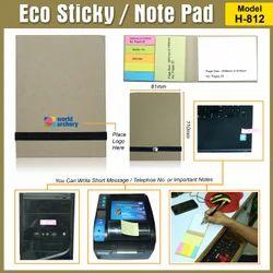 Eco Sticky/Note Pad Model H-812