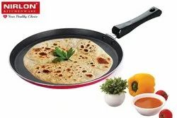 Nirlon Non Stick Cookware Kitchen Accessories for Cooking 4mm Flat Dosa & Chapati Tawa  (FT12)