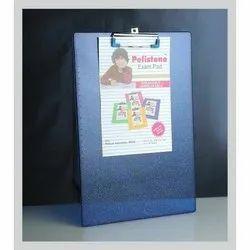 Blue Plastic Clip Board
