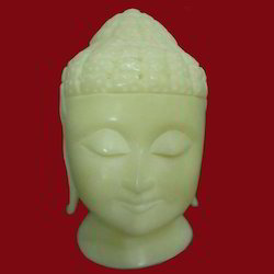 Resin Carving Buddha Head