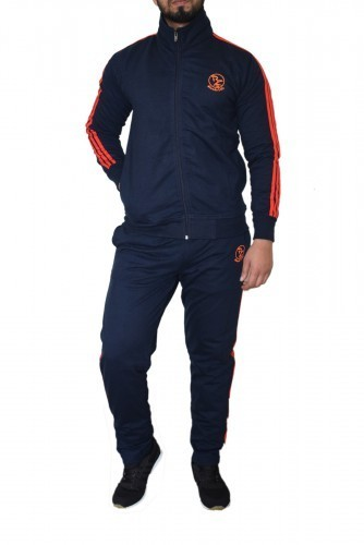 Bleedz Dark Blue Cotton Track Suit