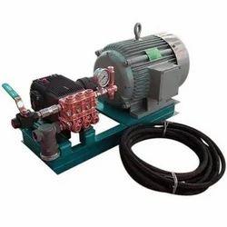Triplex Plunger Hydro Test Pump