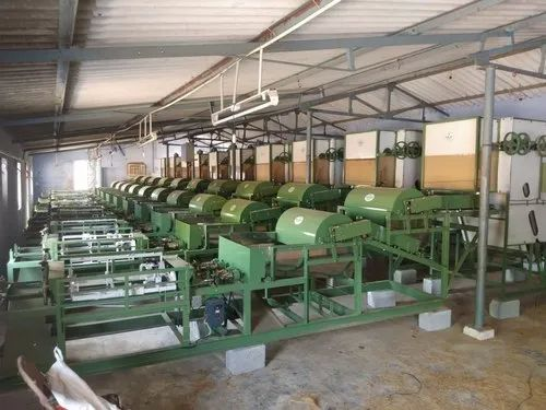 Double Head Double Combing Autofeed Spinning Machine (Two-Ply)
