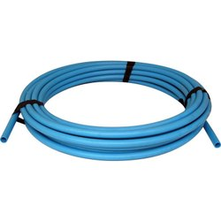 Blue MDPE Pipe