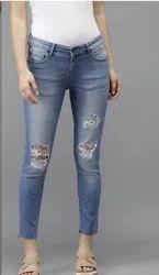 Ladies Rough Jeans