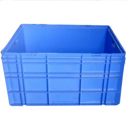 Crates With Plastic Cover