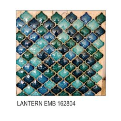 Square Multicolor Ceramic Ornamental Tiles, Size: 75x75mm, Thickness: 10mm