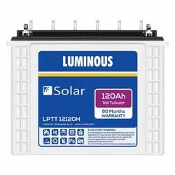 Luminous Solar 120 Ah Tubular Battery