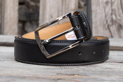 Fabbro Men's Formal Genuine Leather Belt, Packaging Type: Box