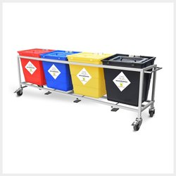 Bio Medical Waste Trolley 30L