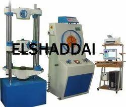 Digital 400 Tonn Universal Testing Machine 40 Ton, Packaging Type: Wooden Box, Model Name/Number: Elshaddai